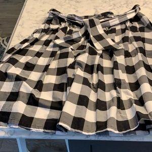 3 for $25* checkered skirt